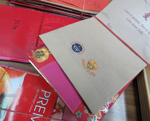 Donation from Paya Lebar Methodist Girls Secondary School