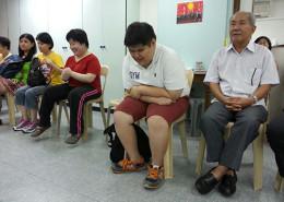 Prayer during GMB English Fellowship